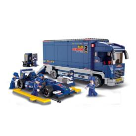 Sluban Formule 1 M38-B0357 Formule s přepravním náklaďákem