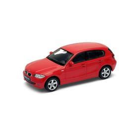 Welly - BMW 120 1:34 šedé