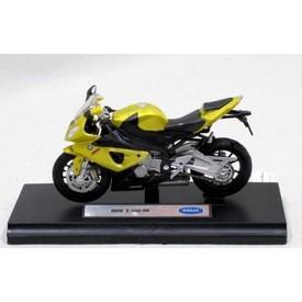 Welly - Motocykl BMW S1000RR model 1:18 zlatý