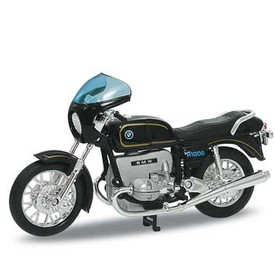 Welly - Motocykl BMW R100 S model 1:18 černý