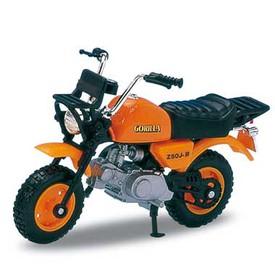 Welly - Motocykl Honda Gorilla model 1:18 oranžová