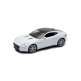 Welly - Jaguar F-Type Coupe model 1:34 stříbrný