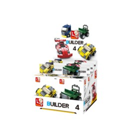 Sluban Builder M38-B05397 4 Vozy 1ks A sporťák