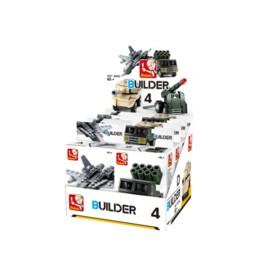 Sluban Builder M38-B05396 4 Army 1ks B