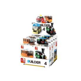 Sluban Builder M38-B05398 4 Veřejná doprava 1ks A tramvaj