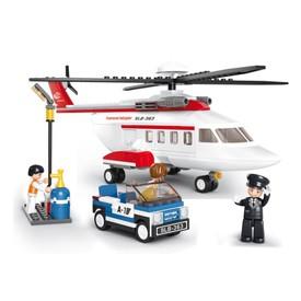 Sluban Letiště M38-B0363 Osobní vrtulník