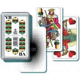 Bonaparte Mariášové karty dvouhlavé v plastové krabičce