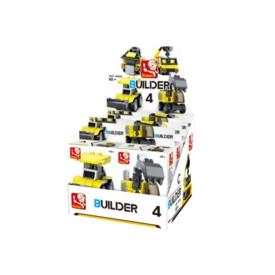 Sluban Builder M38-B05392 4 Stavitelé 1ks D