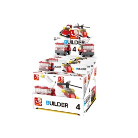 Sluban Builder M38-B05393 4 Hasiči 1ks A