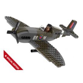 Sluban WWII M38-70071 Stíhací letoun Spitfire