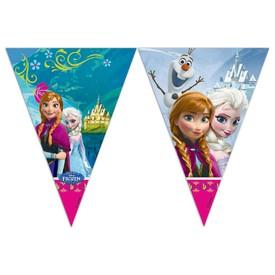 PROCOS Girlanda vlajky Frozen Ledové Království 9 ks