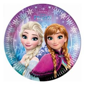 PROCOS Papírový talíř 23 cm Frozen Ledové království 8 ks