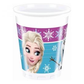 PROCOS Kelímky 200 ml Frozen Ledové Království 8 ks