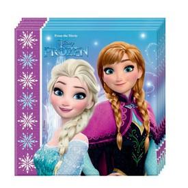 PROCOS Papírové ubrousky Frozen Ledové Království 20 ks