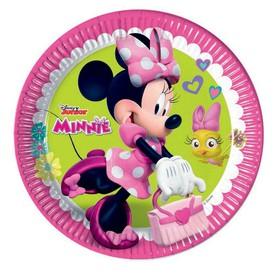 PROCOS Papírový talíř 23 cm Minnie 8 ks