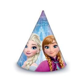 PROCOS Papírový klobouk Frozen Ledové království 6 ks