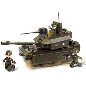 Sluban Army M38-B0287 Tank M1A2-ABRAMS