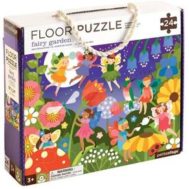Petitcollage Podlahové puzzle zahradní víly