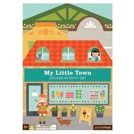 Petitcollage kreativní samolepky - Moje malé město