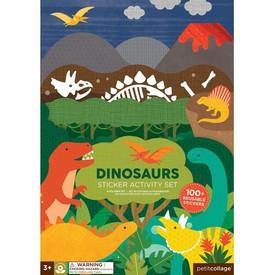 Petitcollage kreativní samolepky - Dinosauři