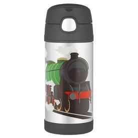 THERMOS Dětská termoska s brčkem Vlak
