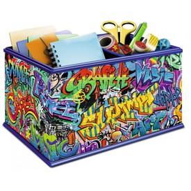 Ravensburger puzzle 3D Úložná krabice Graffiti 216 dílků