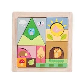 Le Toy Van Petilou - Skládací  kostky les