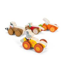 Le Toy Van Petilou autíčko 1ks Přírodní dřevo