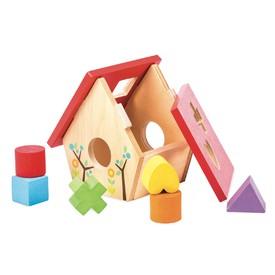 Le Toy Van Petilou - Ptačí budka s tvary