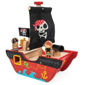 Le Toy Van pirátská loď Little Capitan