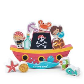 Le Toy Van balanční pirátská loď