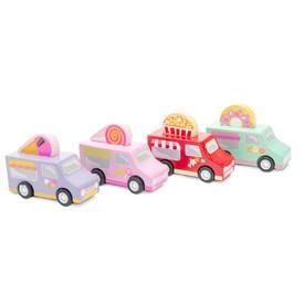 Le Toy Van cukrářský vůz 1ks  červená