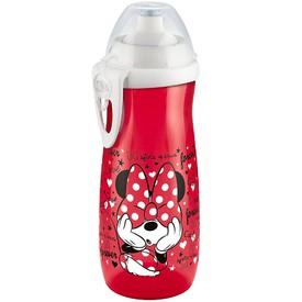 NUK Dětská láhev Sports Cup Disney Mickey 450 ml červená