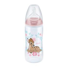 NUK Kojenecká láhev First Choice Disney 300 ml růžová