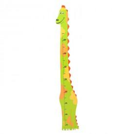 Dětský dřevěný metr - dinosaurus