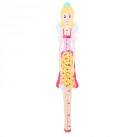 Dětský dřevěný metr - víla