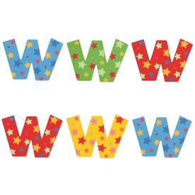 Bigjigs Toys hvězdičkové písmenko W