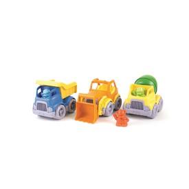 Green Toys set stavební stroje