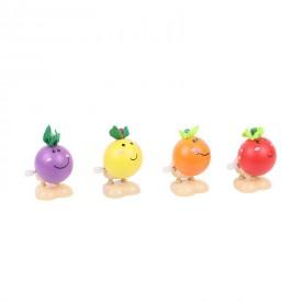 Bigjigs dřevěná hračka - Natahovací skákací ovoce