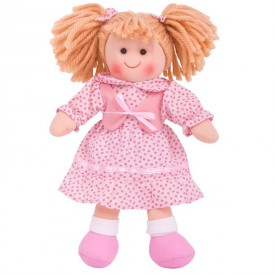 Látková panenka Sophie - 25 cm