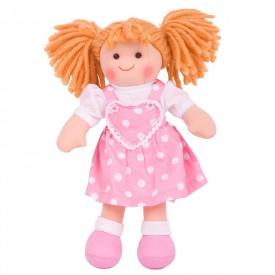 Bigjigs Toys Látková panenka Ruby 28 cm