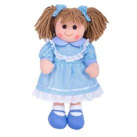 Látková panenka Amelia - 35 cm