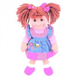 Bigjigs Toys Látková panenka Melody 34 cm