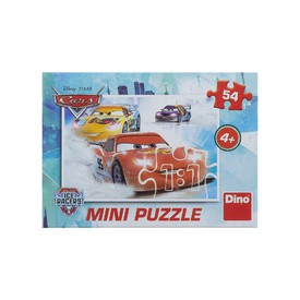Dino Puzzle Mini Disney Cars Ice Racers 54 dílků