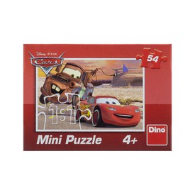 Dino Puzzle Mini Disney Cars 54 dílků