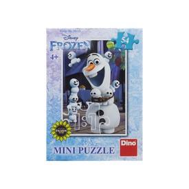 Dino Puzzle Mini Disney Ledové Království Olaf 54 dílků
