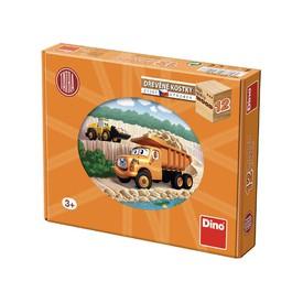 DINO TATRA Dřevěné kostky