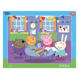 DINO Deskové puzzle Peppa Pig ve školce 40 dílků