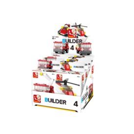 Sluban Builder M38-B05393 4 Hasiči 1ks B