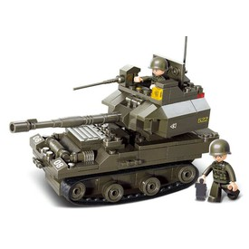 SLUBAN Stavebnice Tank T90